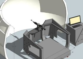 Sea Gunnery Trainer mockup 4m dome-1